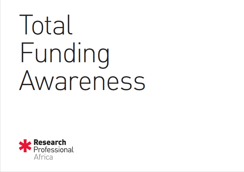 *Research Africa Total Funding Awareness Brochure